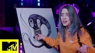 "Billie Eilish ""disegna"" Bury A Friend | MTV Push"