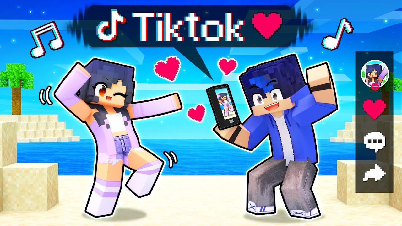 Download Using The TIKTOK MOD In Minecraft!