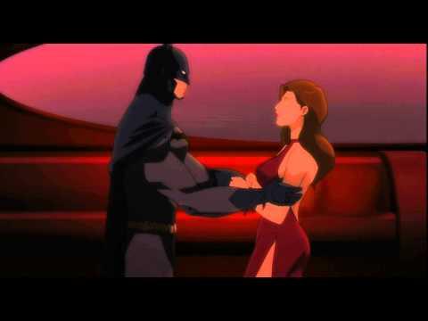 Son of Batman: Talia flirts with the Batman