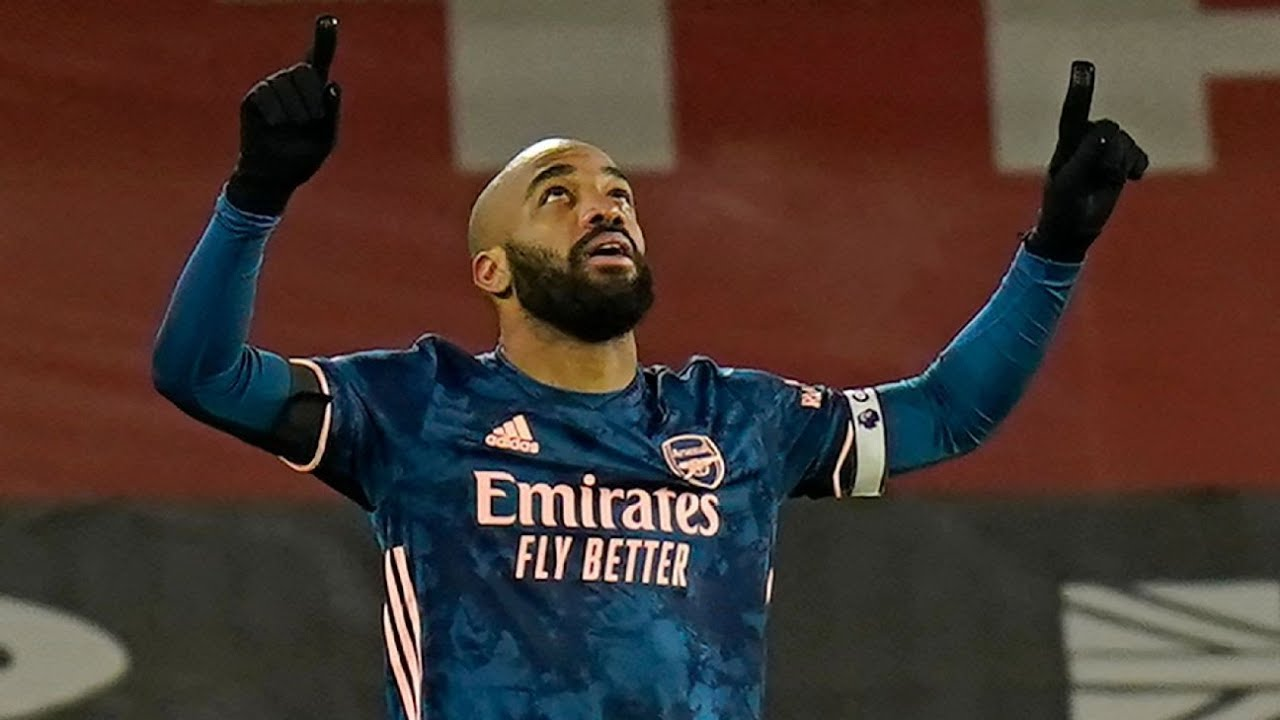 Arsenal beat Sheffield United behind Lacazette's brace, stunning 9 ...