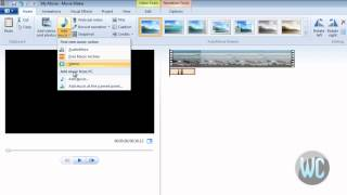 Windows Live Movie Maker 2012 - Record Narration