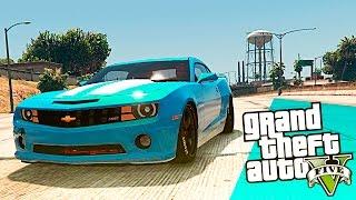 GTA 5 Chevrolet Camaro SS - Мод на машины!(GTA 5 моды & обзор модов GTA 5 здесь. Сегодня я вам покажу мод для GTA 5 где мы будем кататься на Chevrolet Camaro SS в GTA 5...., 2015-11-03T10:27:00.000Z)