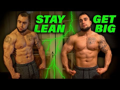 lean-bulking-diet-&-workout-routine-strategies