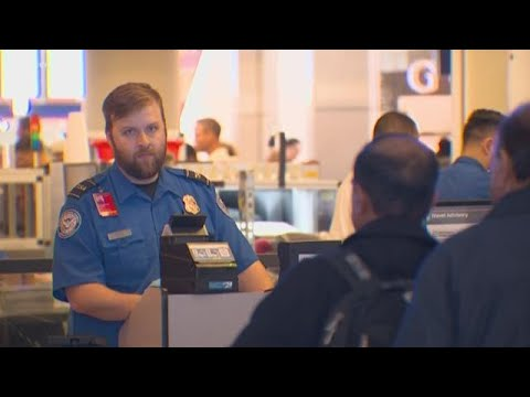 Government shutdown causes DFW TSA agents to work without pay amid holiday travel