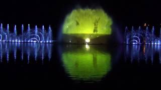 Шоу фонтанов в Абрау-Дюрсо (всё представление)