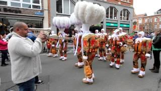Gilles de Binche - Carnaval Leuven 28 april 2012