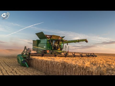 Moisson 2017 | Harvest 2017 | John Deere S685i à chenilles