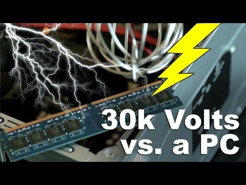 This Video Shows the Many Ways Static Electricity Can Kill Your PC