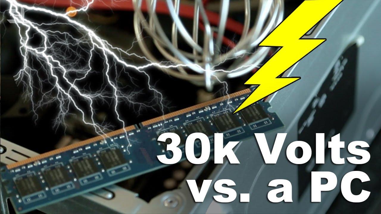 elettricit statica pc