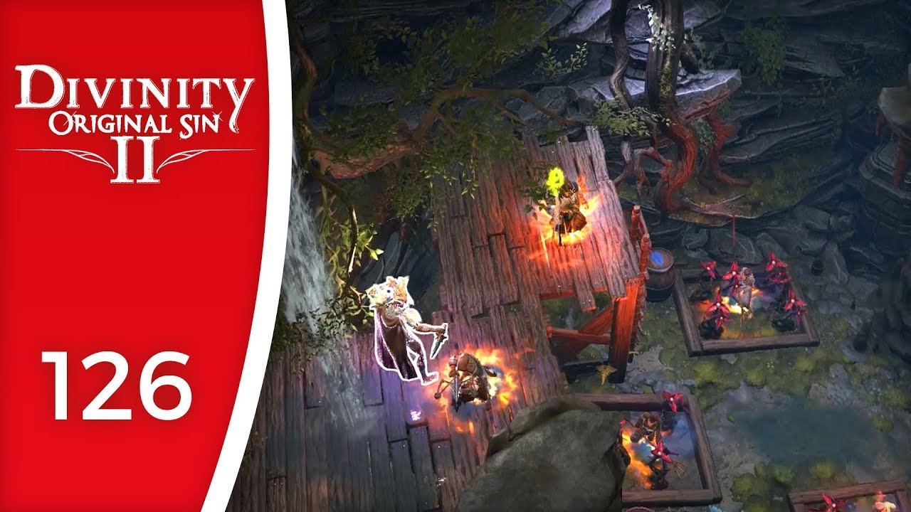 Clearing a Drudanae Den out - Let's Play Divinity: Original Sin 2 #126