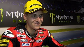 """Quartararo: """"I knew in my head I wanted to be on the podium"""""""