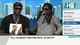 lil wayne and 2 chainz on highly questionable