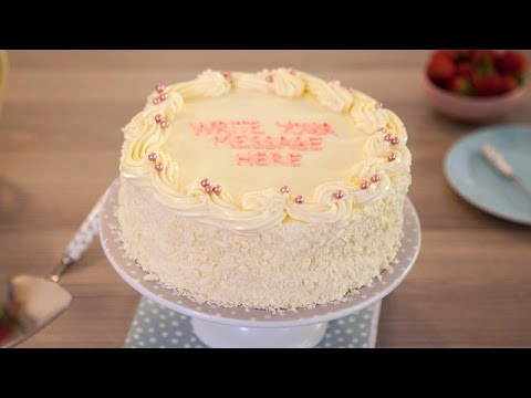 Vanilla Sponge Birthday Cake Recipe