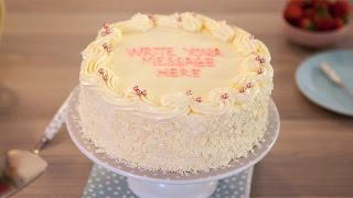Vanilla Sponge Birthday Cake Recipe - Betty Crocker™