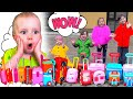Five Kids A lot of Suitcases Song + more Nursery Rhymes & Children's Songs