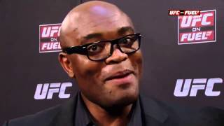Anderson Silva Calls Chris Weidman American Trash After UFC 175