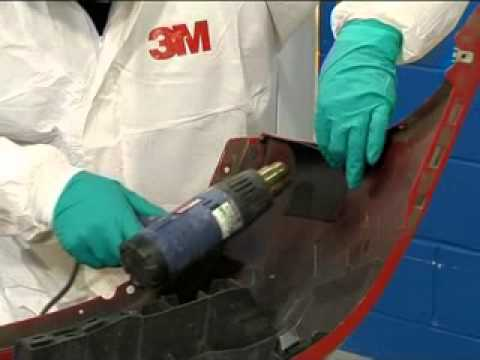 Abs Plastic Repair Kit >> 3m Plastic Bumper Repair Youtube