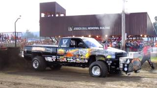 PPL--Super Stock Diesel Trucks--Churnin' Dirt Nationals