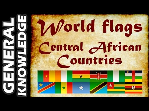 World Flags - Central African Countries