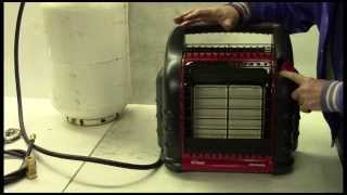 Plumbing a Mr. Heater Big Buddy Heater into your RV propane system
