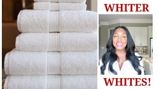 HOW TO EASILY WHITEN~WHITE CLOTHES‼️