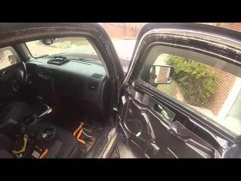 Hummer H3 Door Speaker Install