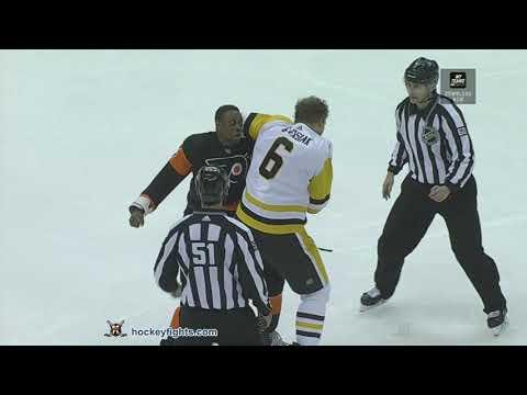 Wayne Simmonds vs Jamie Oleksiak Dec 1, 2018