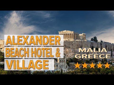 Alexander Beach Hotel & Village Hotel Review | Hotels In Malia | Greek Hotels