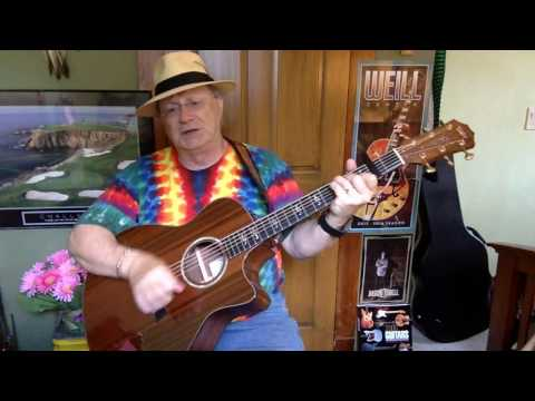 207b -  Come Monday -  Jimmy Buffett cover -  Vocal  - Acoustic Guitar & chords