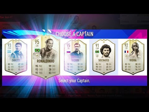 SO MANY ICONS! - 195 FUT DRAFT CHALLENGE - FIFA 19 Ultimate Team