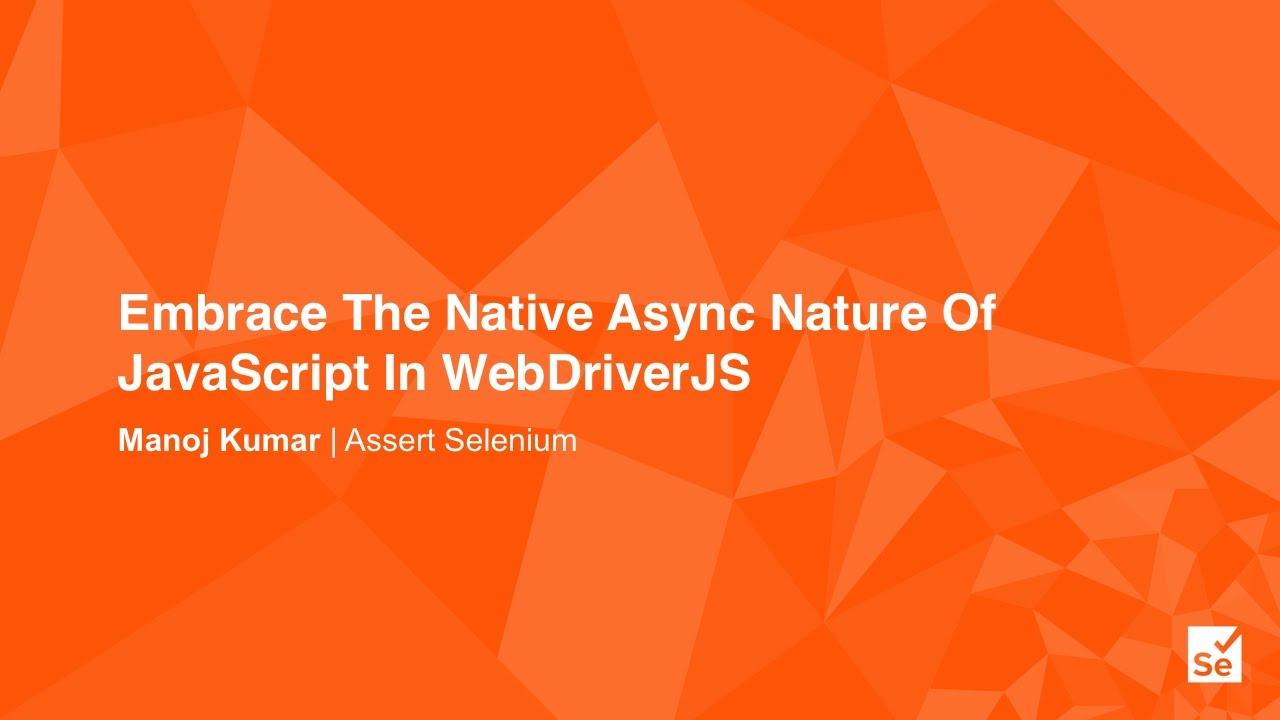 javascript – Assert Selenium