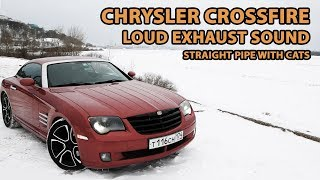 Crossfire no muffler. 3.2 V6 M112 E32. Straight pipe with cats.