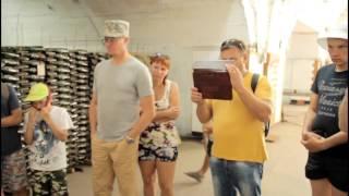 Новый Свет  Экскурсия на завод шампанских вин