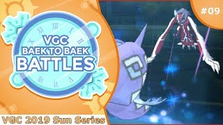 """Dark Aura on the Rise"" Pokémon VGC 2019 [Sun Series] Baek to Baek Battles - Episode 9"