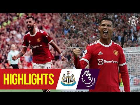 Ronaldo attacks and United hit Newcastle four times |  Featured |  Manchester United 4-1 Newcastle
