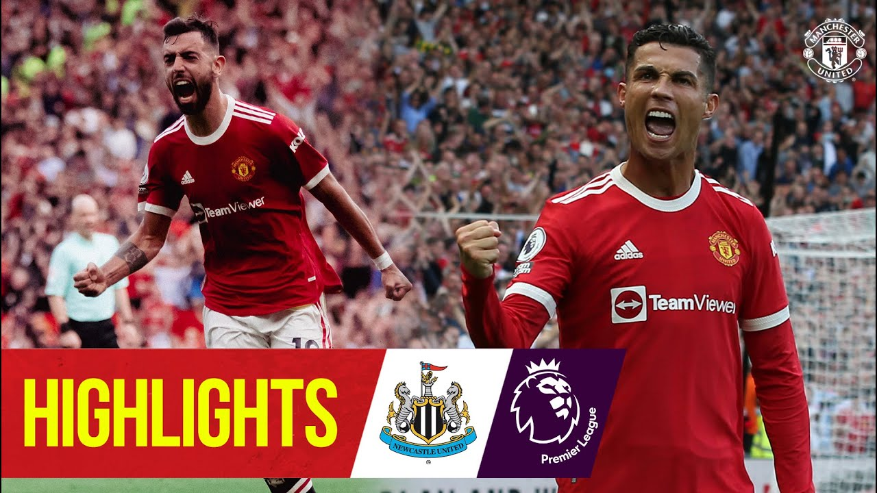 Download Ronaldo strikes as United hit Newcastle for four | Highlights | Manchester United 4-1 Newcastle