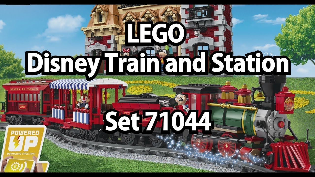 Repeat Oha und Oje: LEGO Disney Train and Station (Set 71044