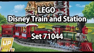 Oha und Oje: LEGO Disney Train and Station (Set 71044 ) Klemmbausteinlyrik News