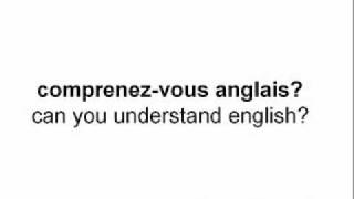 How To Say Do You Speak English In French