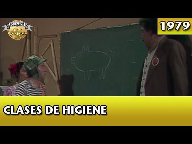 El Chavo   Clases de higiene (Completo)