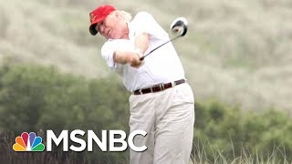 How President Donald Trump Gets Those Great Golf Scores | All In | MSNBC