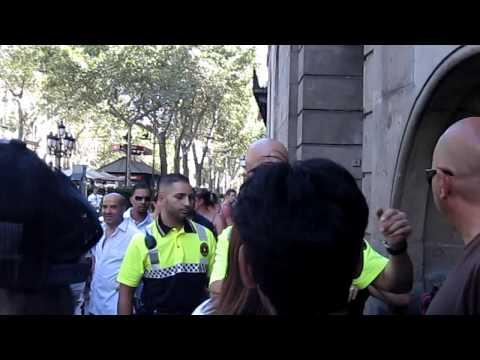 pickpocket arrested  on las ramblas  barcelona