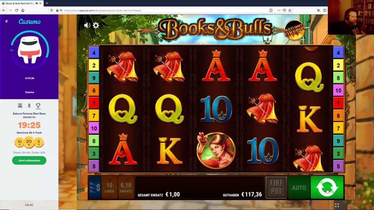 Online Casino Books And Bulls