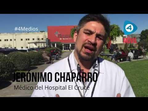 Trabajadores del Hospital El Cruce participan de la Marcha Federal en defensa de la salud pública