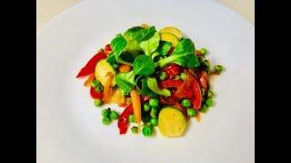 Сочные овощи за 10 минут. Вкусно и просто