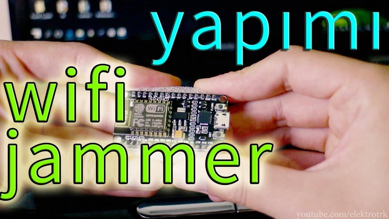 How to Make a Wifi Jammer? We make jammer using NodeMcu - Elektro Türk