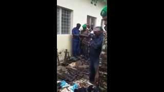 Les armes saisies à Kinindo-Bujumbura