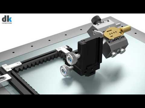 dk SCHIENENFIX Clamping sheet metal & milled parts