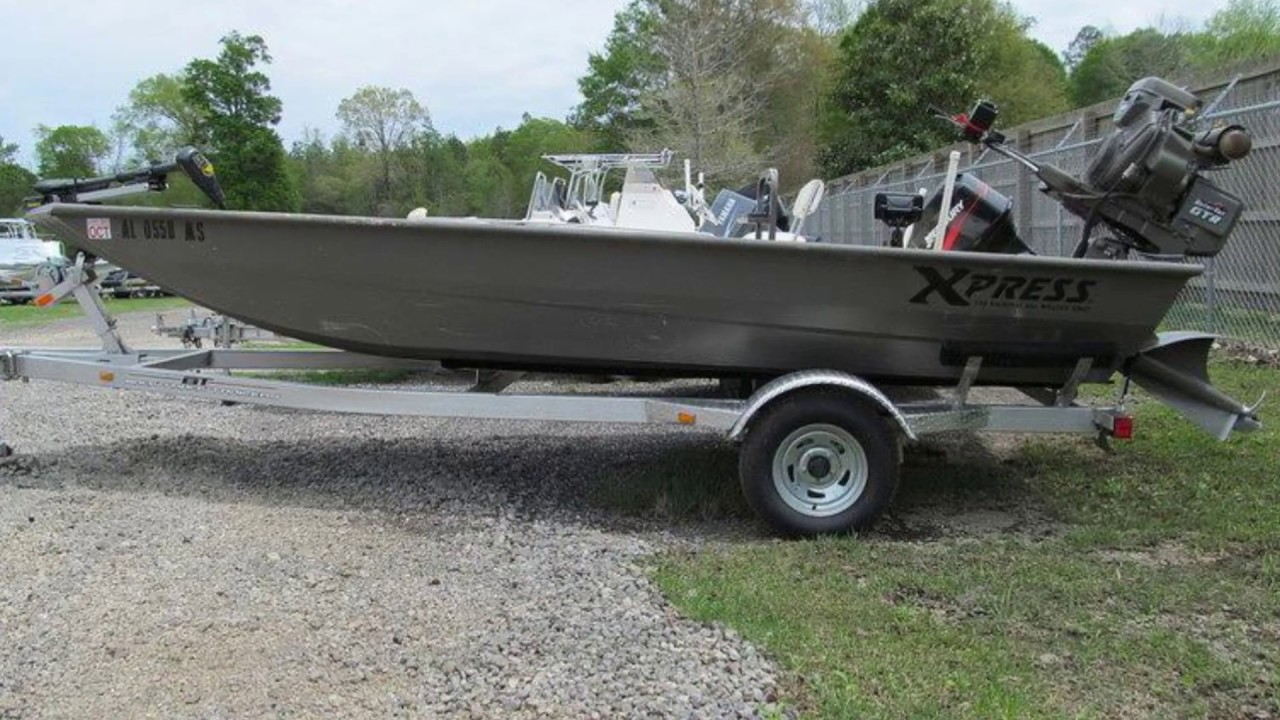 Used 2015 Xpress Boats HD Drop Deck Jon Boat Series DV17DDP For Sale in Stapleton & Theodore, AL ...