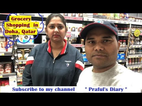 Life in Qatar | Grocery shopping in Doha | Daily life in Doha| Budget shopping